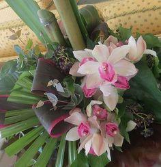 Tropical wedding flowers  www.myfloweraffair.com