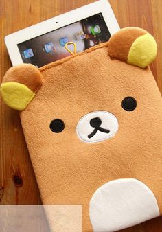 Lovely Bear Soft Protective Case for ipad