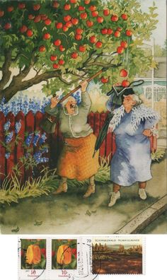Awsome Pictures, Art Pictures, Old People Love, Old Lady Humor, Dutch Artists, Christmas Scenes, Children's Book Illustration, Landscape Art, Alter