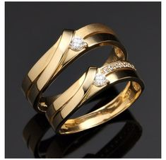 Couple Rings Gold, Engagement Rings Couple, Wedding Rings Sets Gold, Gold Diamond Wedding Band, Rose Gold Engagement Ring, Wedding Bands, Wedding Gold, Solitaire Engagement, Halo Diamond