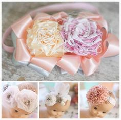 Jewel Box Ballerina - Boutique Fabric Flower Baby Headband Tutorial (Instant Ebook Downloads) Save 25%, $32.62 (http://www.jewelboxballerina.com/boutique-fabric-flower-baby-headband-tutorial-instant-ebook-downloads-save-25/)