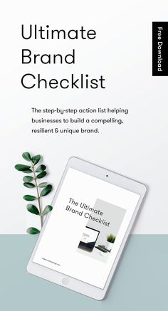 We want you to design a brand that fuels your business success. This step-by-step checklist not only helps to direct your branding efforts, but also gives you actionable steps to help you to address areas that need a bit of TLC. Click the pin to download your free copy!