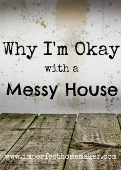 Let me fill you in on a dirty little secret. My house stays a mess. Like a really big mess. Like if you come over unannounced I'll be really embarrassed mess. But here's why I'm okay with my messy house: 1. I have a messy personality. I'm not saying that personality is an excuse to […]