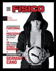 German Cano portada Revista Fisico mas en www.revistafisico.com