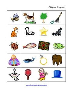 FREE: Packet is full of rhyming activities you can do with your Preschooler/Kindergartener.  It includes a variety of activities that help your chil...