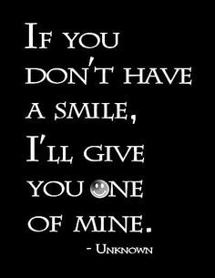 Smile babyyyy (: