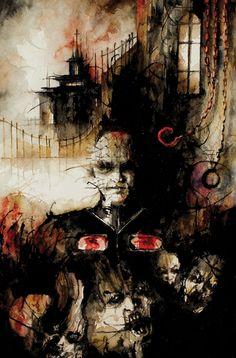 CLIVE BARKER'S HELLRAISER: BESTIARY #4 Inc. cover by multigrade.deviantart.com on @DeviantArt