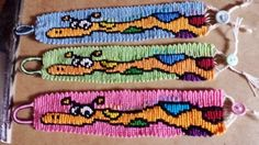 Giraffe friendship bracelet pattern number #10880 - For more patterns and tutorial visit our web or the app!