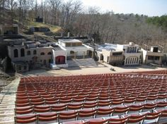 Another View of The Great Passion Play Stage!!!