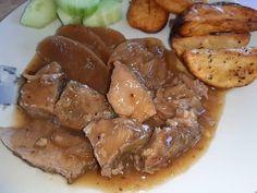 Ζουμερό χοιρινό σάλτσα μήλου Pork, Meat, Vases, Kale Stir Fry, Pork Chops