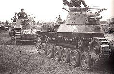 """A Type 97 """"Chi-Ha"""""""