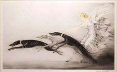 Louis Icart. Speed II