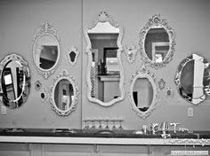 Great mirror collage@ Ingrid Thelning...another collection ...