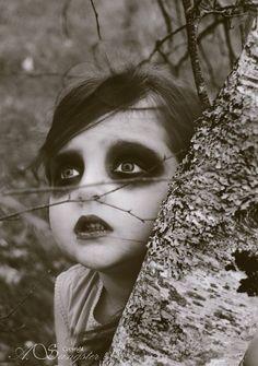 Maquillage halloween pour enfant, simple mais convainquant !