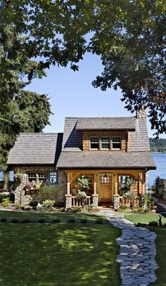 Dream cottage on the Puget Sound near Port Orchard, Wash. From Cabin Life magazine Dream cottage on the Puget Sound near Port Orchard, Wash. From Cabin Life magazine