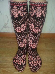 Варежки и носочки из Чердыни   VK