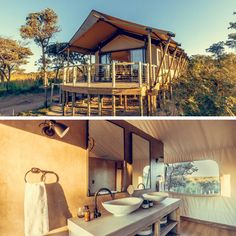 Not a fan of camping? Not to worry, we've got you covered with the most luxurious and beautiful glamping accommodation in SA! Kruger National Park, National Parks, Rustic Wood Furniture, Safari Adventure, Ultimate Travel, Lodges, Glamping, Fan, Explore