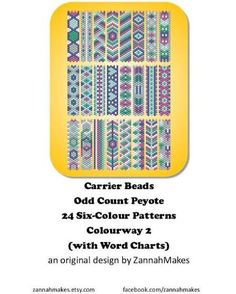 carrier bead patterns