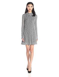 BCBGeneration Women's Turtle Neck A-Line Dress - http://darrenblogs.com/2015/12/bcbgeneration-womens-turtle-neck-a-line-dress/