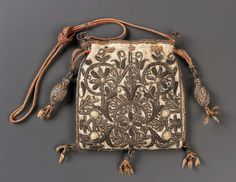 Drawstring bag | Museum of Fine Arts, Boston