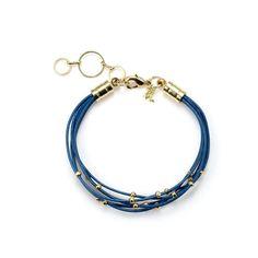 Royal Blue Vibes Fashion Layered Bracelet