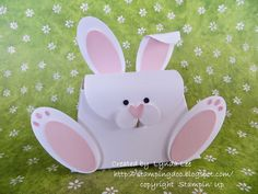 Stampin' Up! Purse Die Easter Bunny by Lynda Lee: www.stampingdoc.blogspot.com