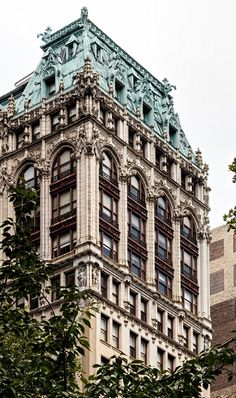 New York Architecture Photos: Croisic Building New York Architecture, Neoclassical Architecture, Vintage Architecture, Urban Architecture, Architecture Photo, Beautiful Architecture, Beautiful Buildings, Building Sketch, Building Design