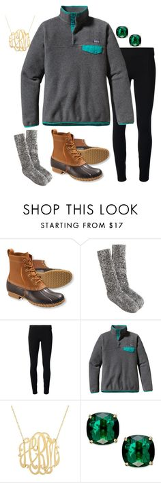 """Casual Days!"" by pretty-and-preppy ❤ liked on Polyvore featuring L.L.Bean, J.Crew, Helmut by Helmut Lang, Patagonia and Kate Spade"