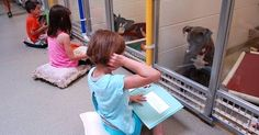 LITTLE GIRL SITS DOWN WITH A SHY PIT BULL AT THE SHELTER...WATCH WHEN SHE STARTS TO READ PACK BUDDY REHABILITATES RESCUE/SHELTER DOGS TO SERVE AS SERVICE DOGS, FREE, FOR U.S. VETERANS David Utter, Dog Trainer: Service & Therapy Dogs, PTSD, Depression, Panic Attacks, Behavior Modification, Obedience. Train and Board. (http://dogtrainingorangecountyca.com/)www.DavidUtter.com (www.Pack-buddy.com) 1-888-959-7463
