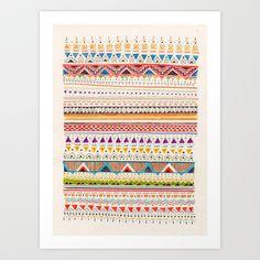 Pattern Art Print by Sandra Dieckmann Wall Patterns, Textures Patterns, Print Patterns, Abstract Pattern, Pattern Art, Pattern Design, Print Design, Graphic Design, Sandra Dieckmann