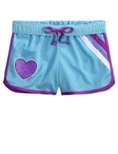 Sports Mesh Track Shorts   Girls Shorts Bottoms   Shop Justice