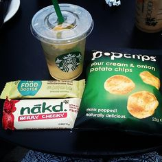 Lunching at Starbucks