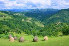 Srbija.Serbian Country-side