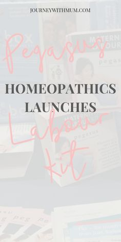 Pegasus Homeopathics launches a new safe and easy - to - use Maternity Kit