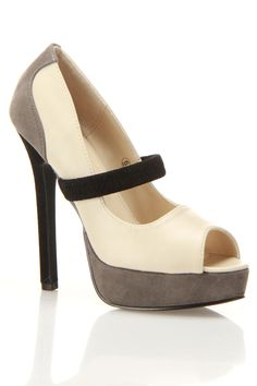Vibe Open Toe Heels