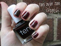ten over ten polish- church