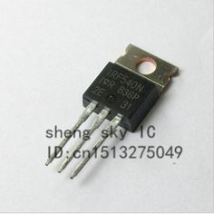 Have you seen this product? Check it out! FREE SHIPPING 10PCS IRF540N IRF540 TO220 POWER MOSFET - US $1.46 http://globalcomputershop.com/products/free-shipping-10pcs-irf540n-irf540-to220-power-mosfet/