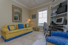 Club Cabana Unit#401... $535,000... 4bedrooms, 3baths... Non-Rental Complex Beautiful Mediterranean Style Condo Unit on Perdido Key's Gulf of Mexico! Contact DJ Drury @850-572-3539 or email  dj.drury@cox.net for more info Condo, Cabana, Wet Bar, Spa Pool, Mediterranean Style, Furniture, Steam Room, Home Decor, Room