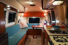 Airstream Globetrotter 1967 Airstream, Corner Desk, Camper, Furniture, Home Decor, Corner Table, Truck Camper, Travel Trailers, Campers