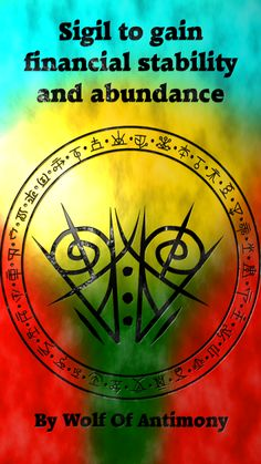Sigil to gain financial stability and abundance Yes I was looking at these symbols 😘😘 Wiccan Symbols, Magic Symbols, Spiritual Symbols, Symbols And Meanings, Wiccan Spells, Magic Spells, Witchcraft, Ancient Symbols, Viking Symbols