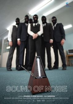 Sound of Noise is a unique film and sound project, cop movie, black comedy with music.  It is a Swedish-French co-production that involved talents from many countries, both in sound and image departments. #photo