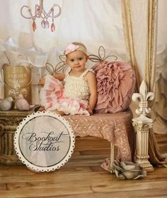 Perfect baby girl  photoshoot.