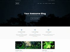 Our new celestial Free WordPress Theme, Refur, is available on the great spaces of WordPress.org. Be the first to download it!
