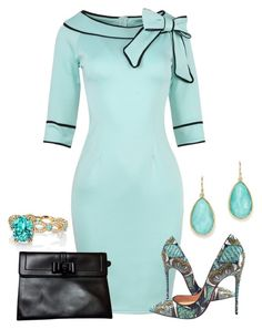 """louboutin"" by kim-coffey-harlow ❤ liked on Polyvore featuring Christian Louboutin, Ippolita and Erica Courtney"