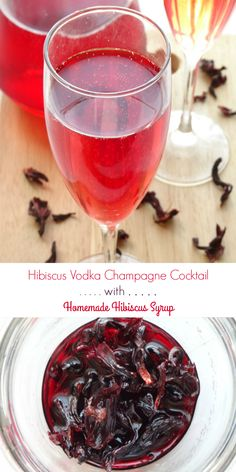 Hibiscus Vodka Champ