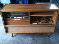 Saba 300 Automatic Console Stereo - doors off by Retro ReDesign, via Flickr