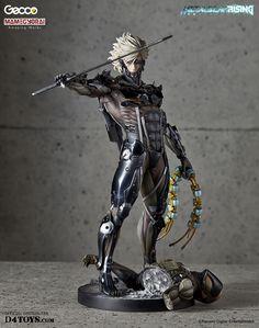 Metal Gear Rising Revengeance statuette 1/6 Raiden Gecco