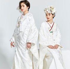 Kimono Dress, Kimono Top, Wedding Kimono, Wedding Dresses, Curled Hairstyles, Wedding Hairstyles, Japanese Wedding, Hair Images, Hair Ornaments