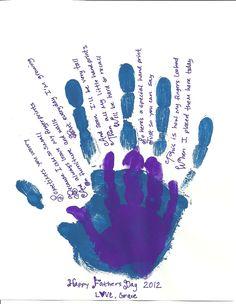 valentine hand heart poem