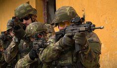 M.O.U.T. training / nácvik boje v zastavěných oblastech
